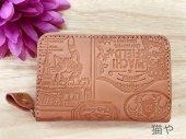 ラベルパンチカード小銭 ピンク