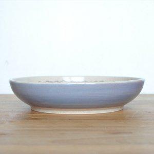 芦田 尚美 / ヤマノハ φ21cm 深皿(ラベンダー)