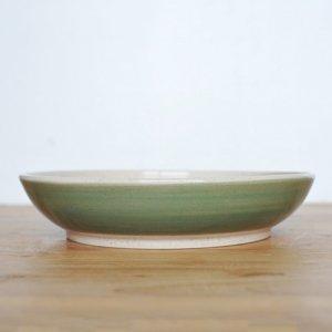 芦田 尚美 / ヤマノハ φ21cm 深皿(オリーブ)