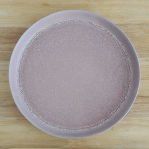 《1点もの》青木 浩二 / 平盛鉢(31cm)灰赤紫