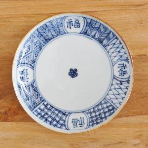 KAWASEMI / 染付五寸皿