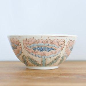ミヤ マリカ / お茶碗 花 マルチ