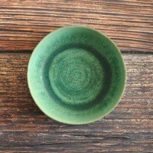 青木 浩二 / 平盛鉢(10cm)山葵