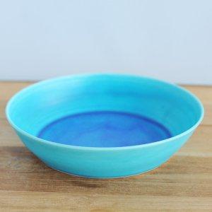 音屋 nakagawa / ブルー深皿