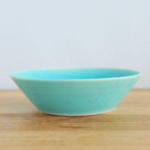 音屋 nakagawa / ブルー深鉢