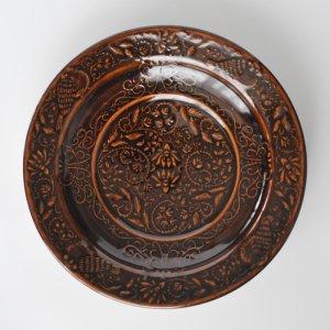 翠窯 / パスタ皿 飴