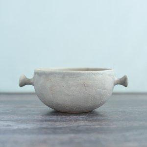 蓮尾寧子 / 粉灰ちょんちょんてスープカップ 小