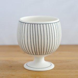 勝村 顕飛 / 黒線紋 丸ゴブレット