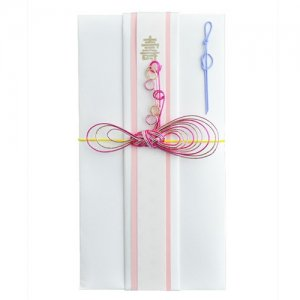 OTUTUMI・ご祝儀袋 / - Ribbon -(Pink silver)