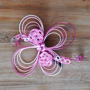 OTUTUMI・髪飾り 花(ピンク)