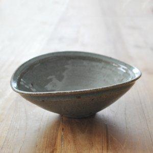 翠窯 穴山大輔 / カレー皿 灰釉