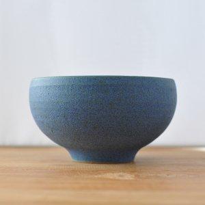 若狭祐介 / 藍香釉 丸鉢