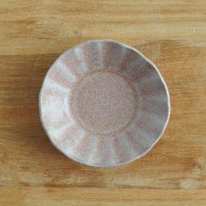 青木 浩二 / 豆皿(向日葵)灰赤紫