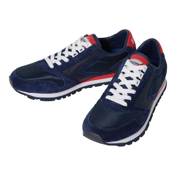 【BROOKS×BLUE BLUE】Navy Indigo Leather Shoes (ブルックス×ブルーブルー ネイビー インディゴ レザー シューズ)