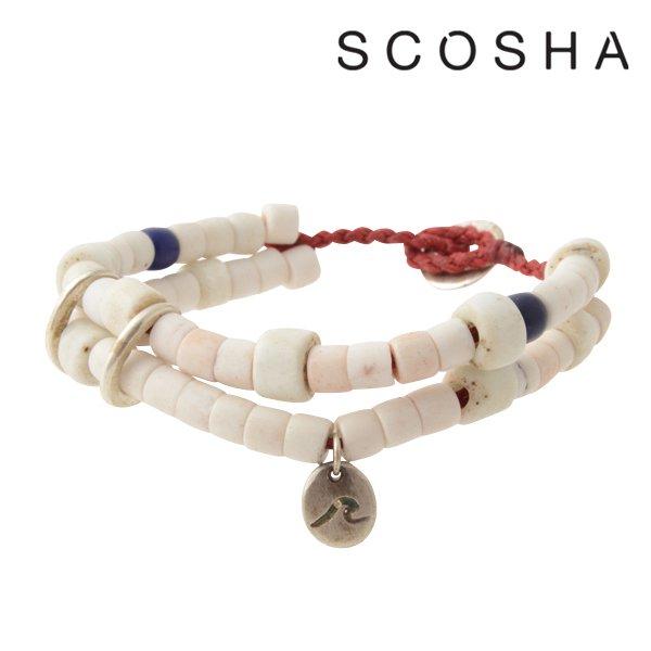 【SCOSHA】Wave Bracelet (スコーシャ ウェーブ ブレスレット)