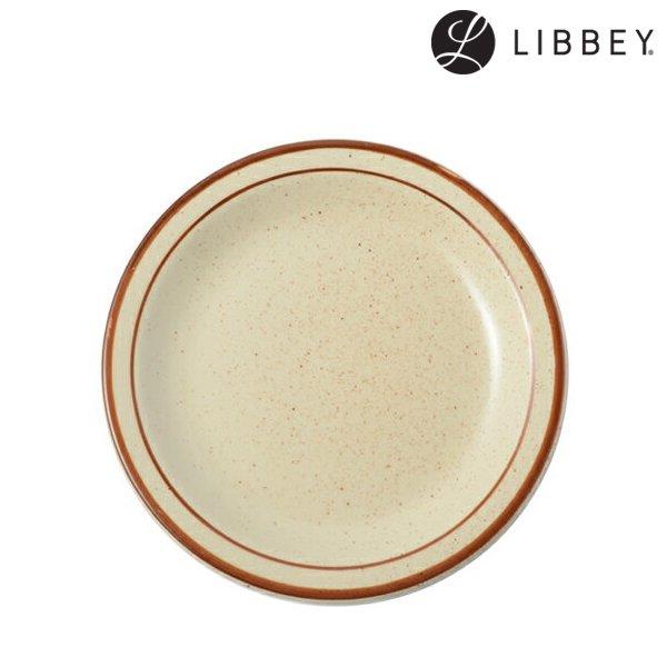 【LIBBEY】Desertsand 16.5cm Plate (リビー デザートサンド 16.5cm プレート)