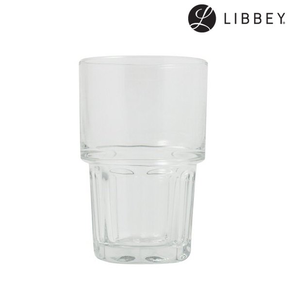 【LIBBEY】Stackgibraltar Hi Ball Glass (リビー スタックジブラルタル ハイ ボール グラス)