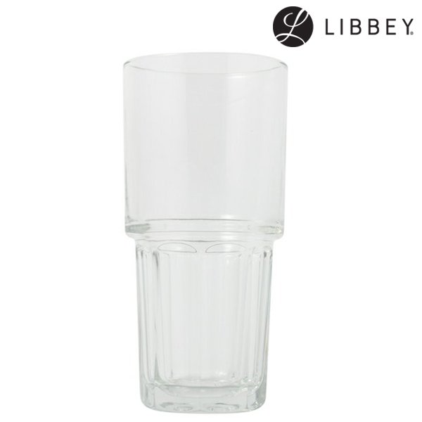 【LIBBEY】Stackgibraltar Cooler Glass (リビー スタックジブラルタル クーラー グラス)
