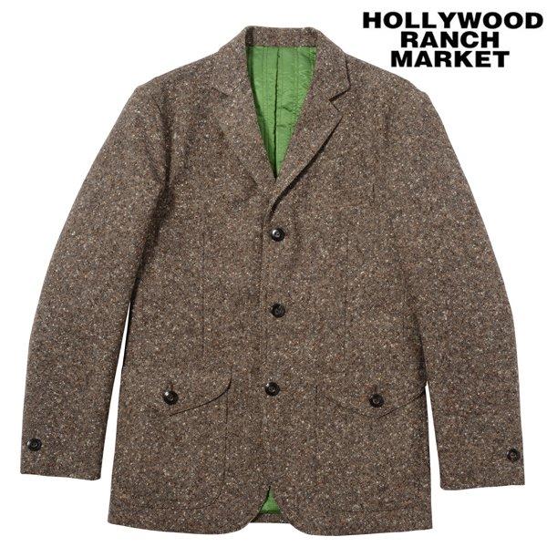 【H.R.M】Colornep Tweed Wool Quilting...