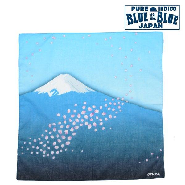 【BLUE BLUE JAPAN】フジトサクラフブキバンダナ