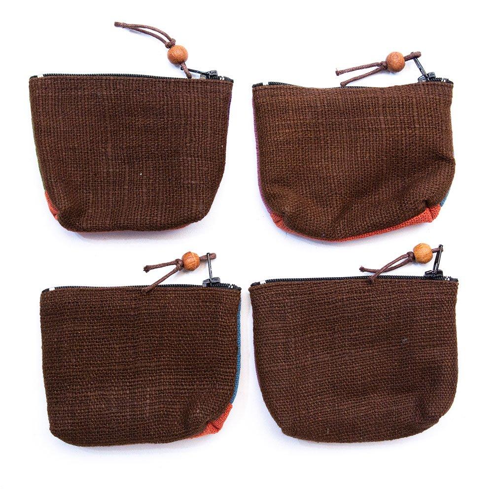 画像2:ThongPua モン族刺繍のちょっと渋めの小物ポーチ