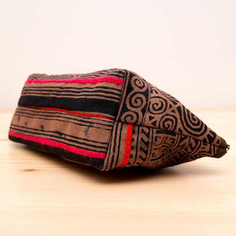 画像4:ThongPua モン族手刺繍のコスメポーチ*ペンケース