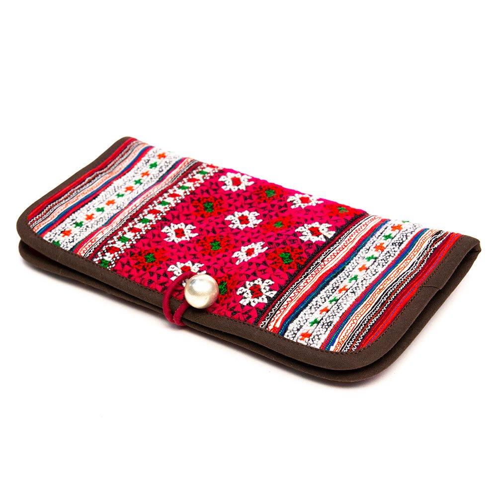 画像2:ThongPua モン族刺繍古布の長財布 Type.1(一点もの)