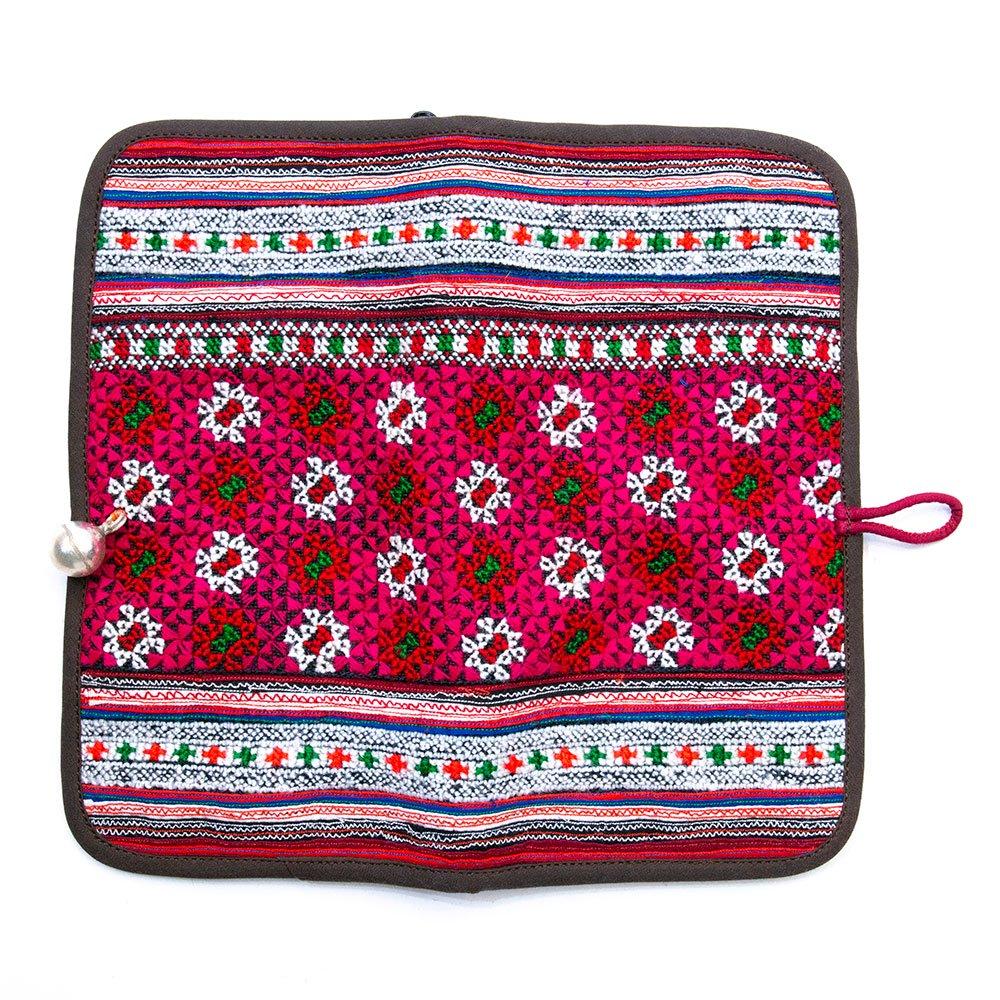 画像4:ThongPua モン族刺繍古布の長財布 Type.1(一点もの)