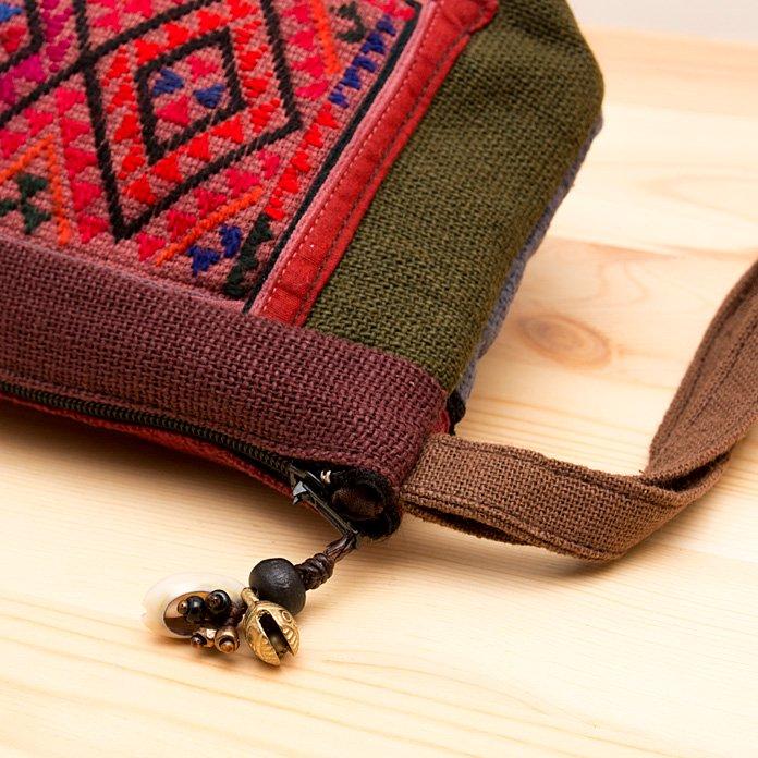 画像4:ThongPua モン族ヴィンテージ民族刺繍メイクポーチ