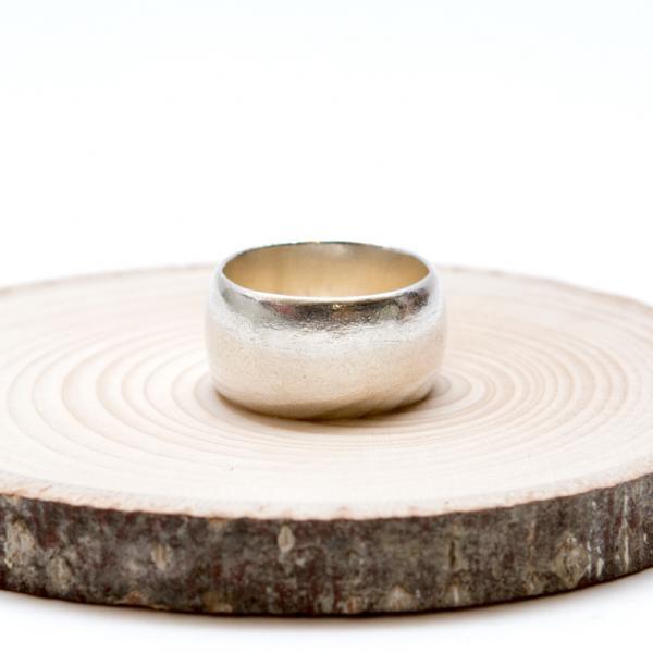【カレン族シルバー リング】シンプルでやさしい曲線が際立つ指輪