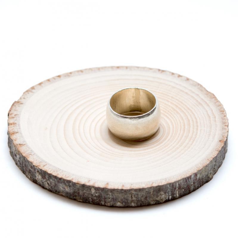 画像2:【カレン族シルバー リング】シンプルでやさしい曲線が際立つ指輪