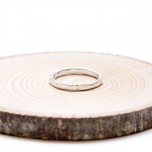 【カレン族シルバー リング】使うほどに愛着のわくシンプルなハンドメイドリング