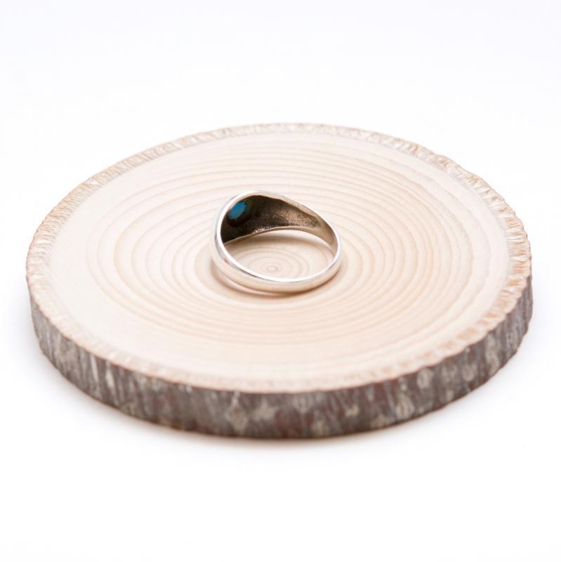 ターコイズ(12月の誕生石)シルバーリング S-size