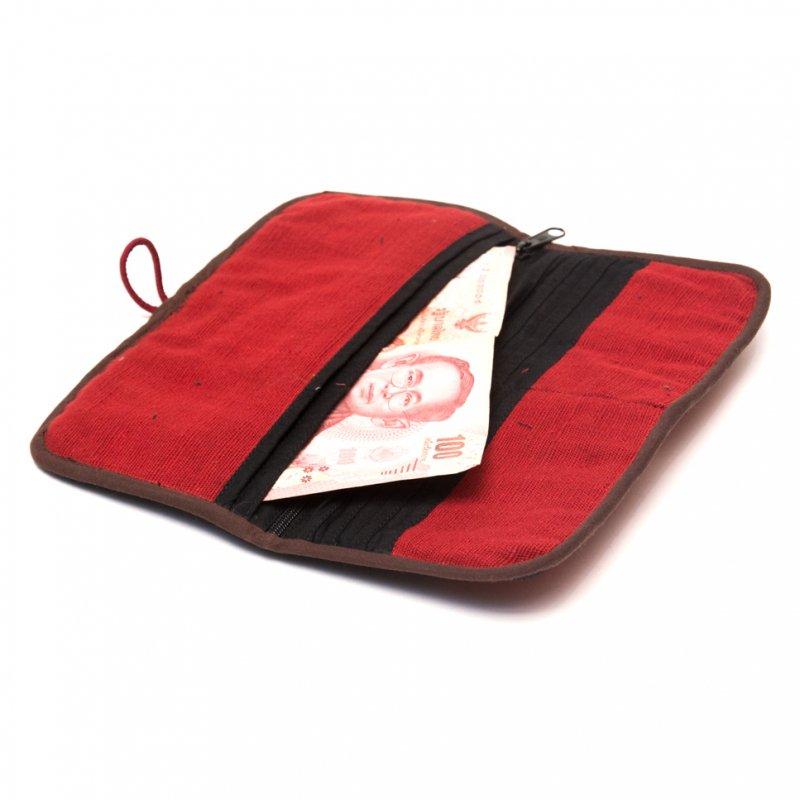 画像3:ThongPua モン族刺繍古布の長財布 Type.2(一点もの)