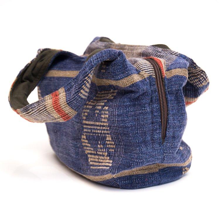 画像2:THANGEN ナガ族刺繍のおしゃれトートバッグ/タイ雑貨/デザイナーズブランド