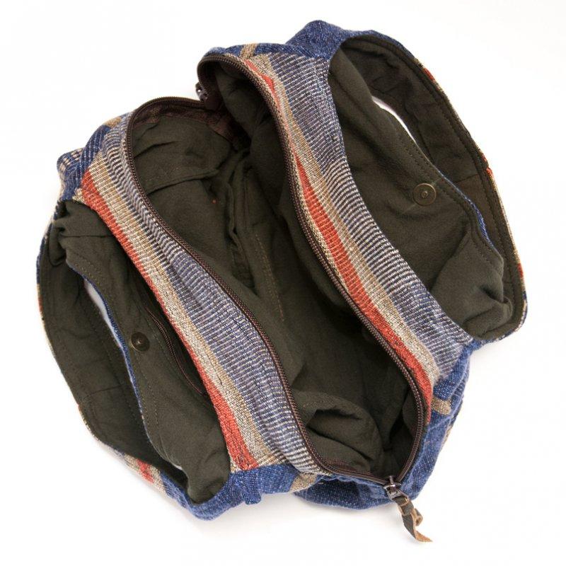 画像4:THANGEN ナガ族刺繍のおしゃれトートバッグ/タイ雑貨/デザイナーズブランド