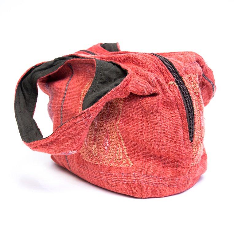 画像2:THANGEN ナガ族刺繍の大人トートバッグ/タイ雑貨/デザイナーズブランド