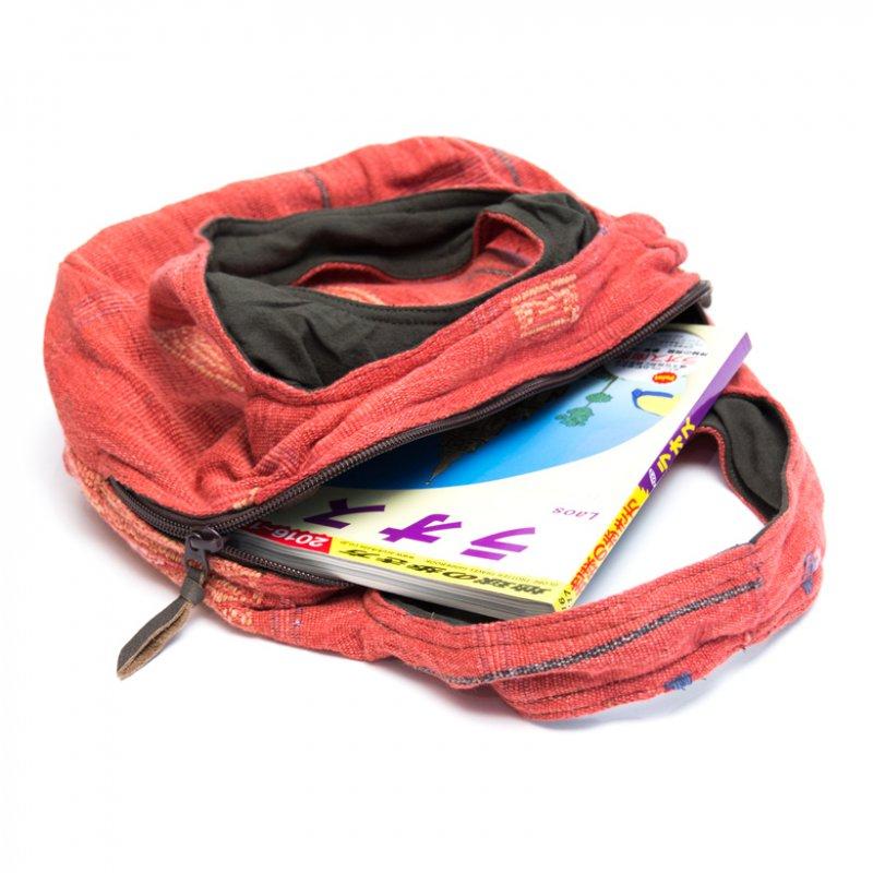 画像4:THANGEN ナガ族刺繍の大人トートバッグ/タイ雑貨/デザイナーズブランド