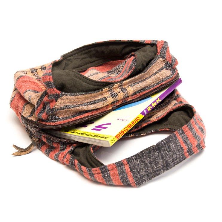 THANGEN ナガ族刺繍の可愛いトートバッグ/タイ雑貨/デザイナーズブランド
