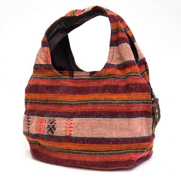 THANGEN ナガ族刺繍の軽い☆トートバッグ/タイ雑貨/デザイナーズブランド
