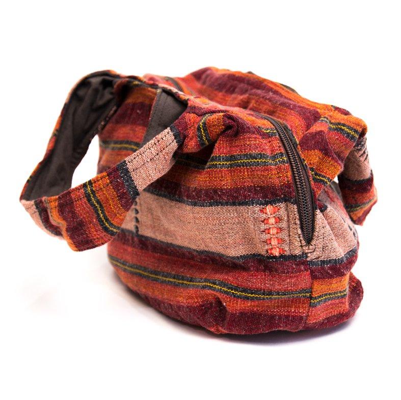 画像2:THANGEN ナガ族刺繍の軽い☆トートバッグ/タイ雑貨/デザイナーズブランド