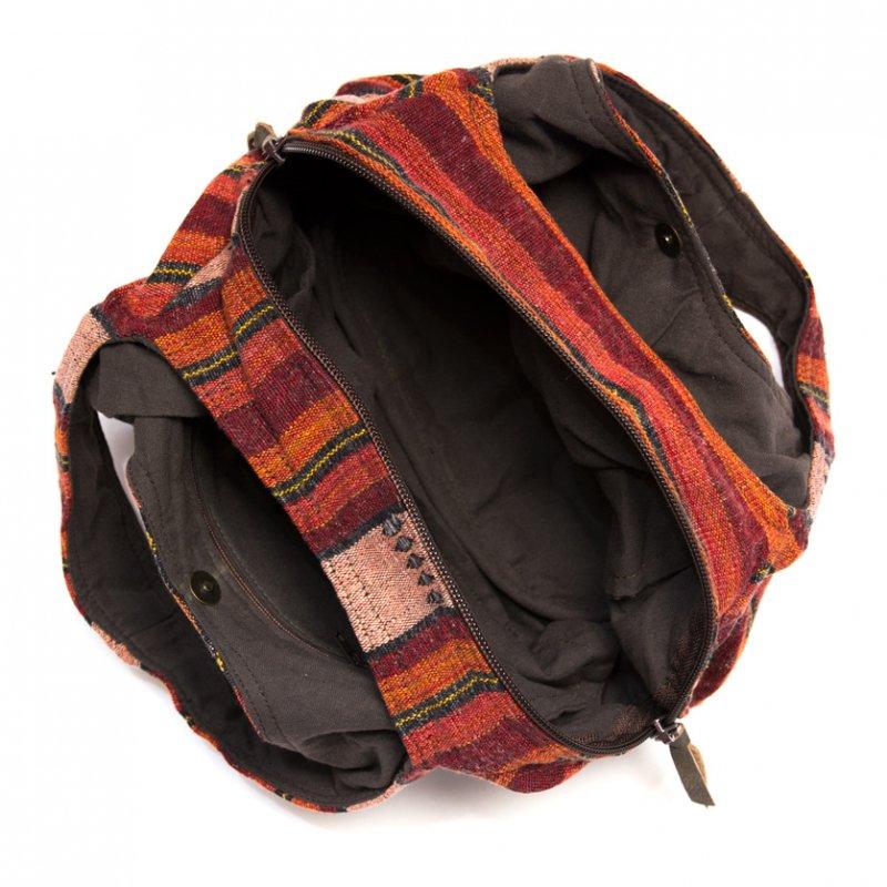 画像4:THANGEN ナガ族刺繍の軽い☆トートバッグ/タイ雑貨/デザイナーズブランド