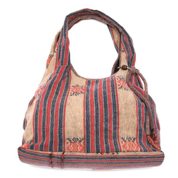 THANGEN ナガ族刺繍のショルダーバッグ Type.1