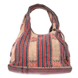 THANGEN ナガ族手織り布のショルダーバッグ Type.1