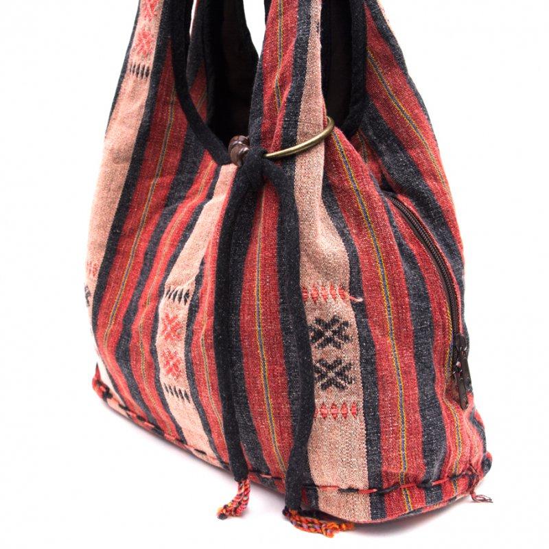 画像2:THANGEN ナガ族刺繍のショルダーバッグ Type.2