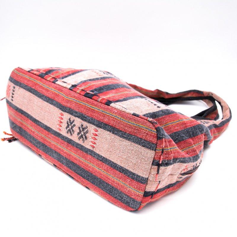 画像3:THANGEN ナガ族刺繍のショルダーバッグ Type.2