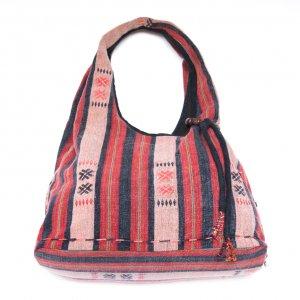 THANGEN ナガ族手織り布のショルダーバッグ Type.2