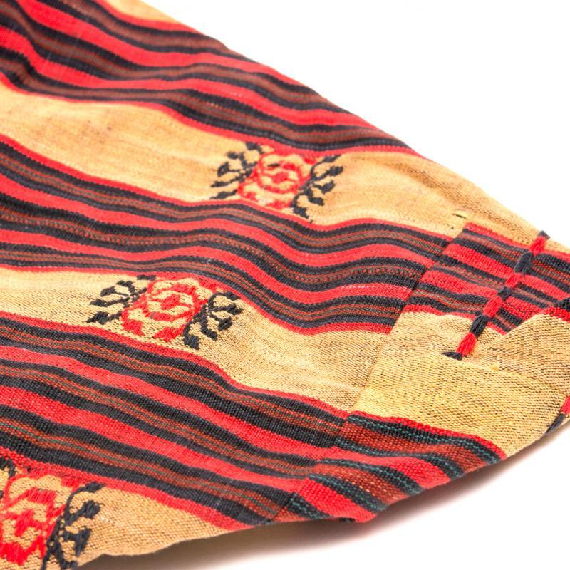 画像4:ナガ族刺繍の巾着バッグ
