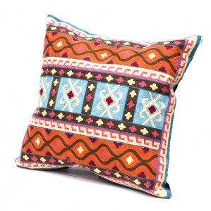 モン族刺繍のクッションカバー