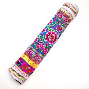 花モン族の色鮮やかなヨガマットケース